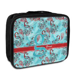 Peacock Insulated Lunch Bag (Personalized)