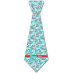 Peacock Iron On Tie - 4 Sizes w/ Name and Initial