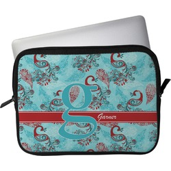 "Peacock Laptop Sleeve / Case - 13"" (Personalized)"