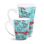 Peacock Latte Mug (Personalized)