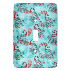 Peacock Light Switch Covers - Multiple Toggle Options Available (Personalized)