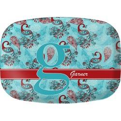 Peacock Melamine Platter (Personalized)