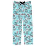 Peacock Mens Pajama Pants (Personalized)