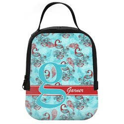 Peacock Neoprene Lunch Tote (Personalized)