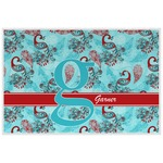 Peacock Placemat (Laminated) (Personalized)