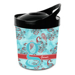 Peacock Plastic Ice Bucket (Personalized)