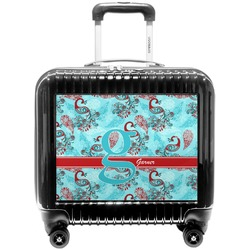 Peacock Pilot / Flight Suitcase (Personalized)