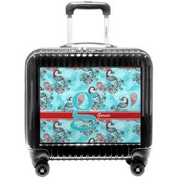 Peacock Pilot / Flight Suitcase (Personalized)
