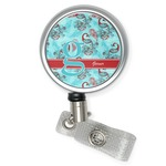 Peacock Retractable Badge Reel (Personalized)