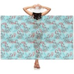 Peacock Sheer Sarong (Personalized)
