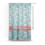 Peacock Sheer Curtains (Personalized)