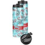 Peacock Stainless Steel Skinny Tumbler (Personalized)