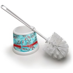 Peacock Toilet Brush (Personalized)