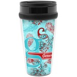 Peacock Travel Mugs (Personalized)