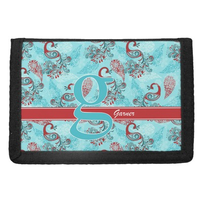 Peacock Trifold Wallet (Personalized)