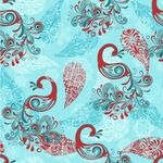 Peacock Wallpaper & Surface Covering