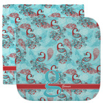 Peacock Facecloth / Wash Cloth (Personalized)