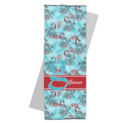 Peacock Yoga Mat Towel (Personalized)