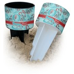 Peacock Beach Spiker Drink Holder (Personalized)