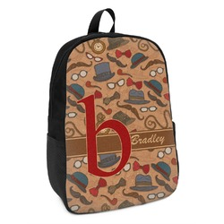 Vintage Hipster Kids Backpack (Personalized)
