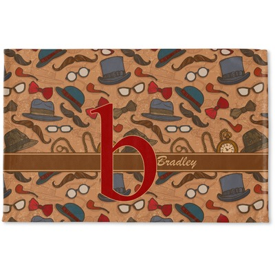 Vintage Hipster Woven Mat (Personalized)