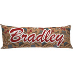 Vintage Hipster Body Pillow Case (Personalized)