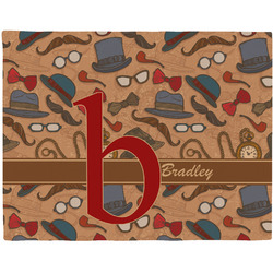 Vintage Hipster Placemat (Fabric) (Personalized)
