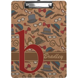 Vintage Hipster Clipboard (Personalized)