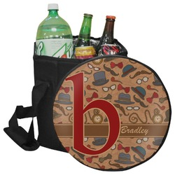 Vintage Hipster Collapsible Cooler & Seat (Personalized)