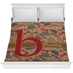 Vintage Hipster Comforter (Personalized)