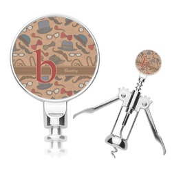 Vintage Hipster Corkscrew (Personalized)