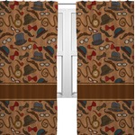 Vintage Hipster Curtains (2 Panels Per Set) (Personalized)