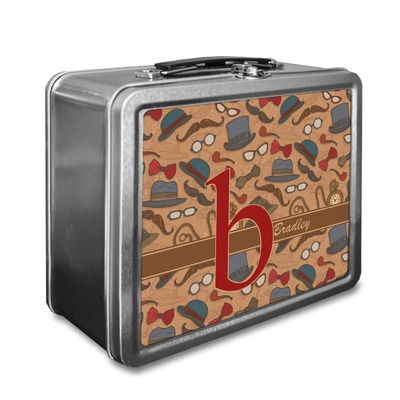 Vintage Hipster Lunch Box (Personalized)