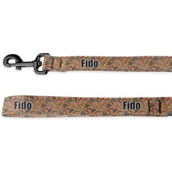 Vintage Hipster Deluxe Dog Leash (Personalized)
