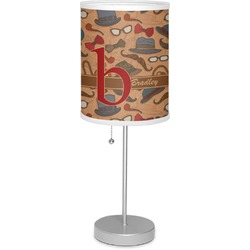 "Vintage Hipster 7"" Drum Lamp with Shade (Personalized)"