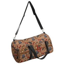 Vintage Hipster Duffel Bag (Personalized)