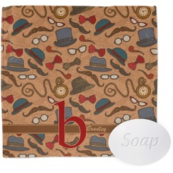 Vintage Hipster Wash Cloth (Personalized)