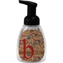 Vintage Hipster Foam Soap Dispenser (Personalized)