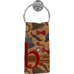Vintage Hipster Hand Towel - Full Print (Personalized)