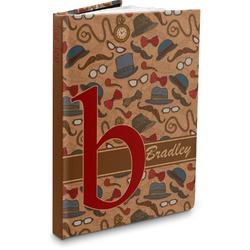 Vintage Hipster Hardbound Journal (Personalized)