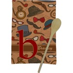 Vintage Hipster Kitchen Towel - Full Print (Personalized)