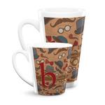 Vintage Hipster Latte Mug (Personalized)