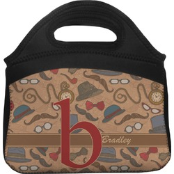 Vintage Hipster Lunch Tote (Personalized)