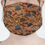Vintage Hipster Face Mask Cover (Personalized)