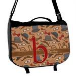 Vintage Hipster Messenger Bag (Personalized)