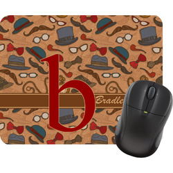 Vintage Hipster Mouse Pad (Personalized)