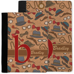 Vintage Hipster Notebook Padfolio w/ Name and Initial