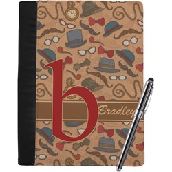 Vintage Hipster Notebook Padfolio (Personalized)