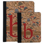 Vintage Hipster Padfolio Clipboard (Personalized)