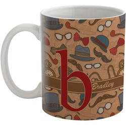 Vintage Hipster Coffee Mug (Personalized)